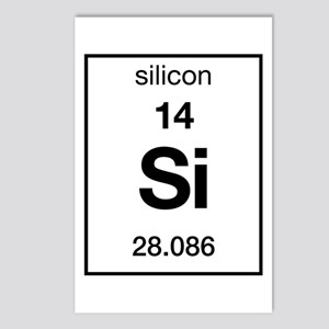 Periodic Table Silicon Stationery - CafePress