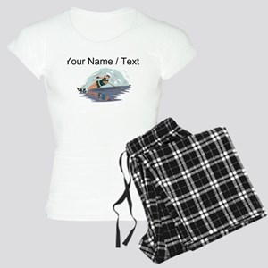 Custom Water Skiing pajamas