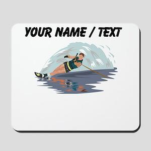 Custom Water Skiing Mousepad