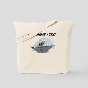 Custom Water Skiing Tote Bag