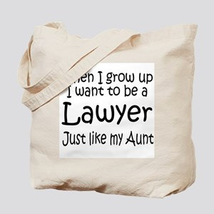 WIGU Lawyer Aunt Tote Bag