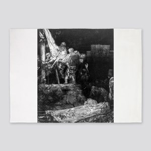 Descent from the cross by torchlight - Rembrandt -