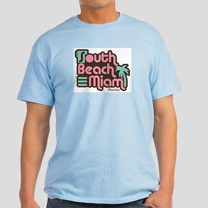 South Beach Miami Florida Light T-Shirt