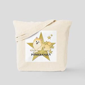 Pomeranian Stars Tote Bag