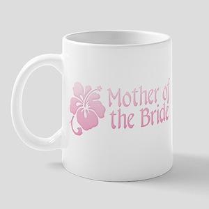 Hibiscus Mother of Bride Mug