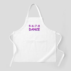 5-6-7-8 Dance BBQ Apron