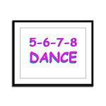 5-6-7-8 Dance Framed Panel Print