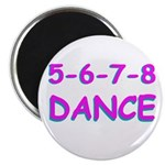 5-6-7-8 Dance Magnet