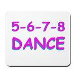 5-6-7-8 Dance Mousepad