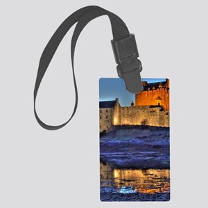 Eilean Donan Castle HDR 314 Large Luggage Tag