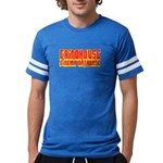 Grindhouse Database Mens Football Shirt T-Shirt