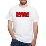 Grindhouse Database White T-Shirt