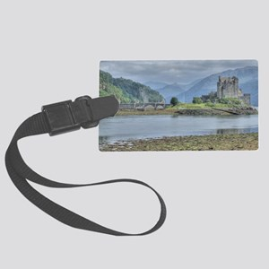 Eilean Donan Castle HDR 6059 , S Large Luggage Tag