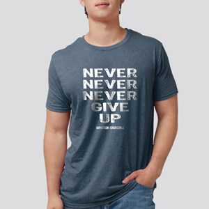 NEVER_GIVE_UP_wh T-Shirt