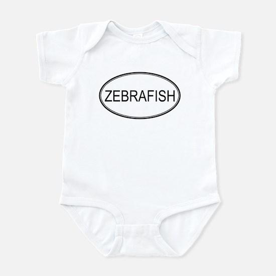 Oval Design: ZEBRAFISH Infant Bodysuit