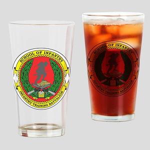 USMC School of Infantry Drinking Glass
