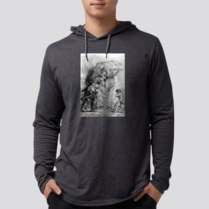 David and Goliath - Rembrandt - 1655 Long Sleeve T