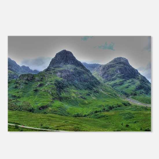 Glencoe 283  ,  HDR , Sco Postcards (Package of 8)