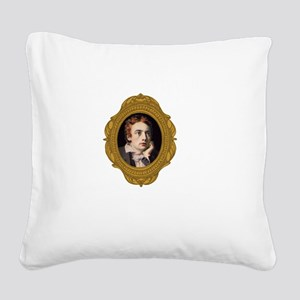 John Keats Square Canvas Pillow
