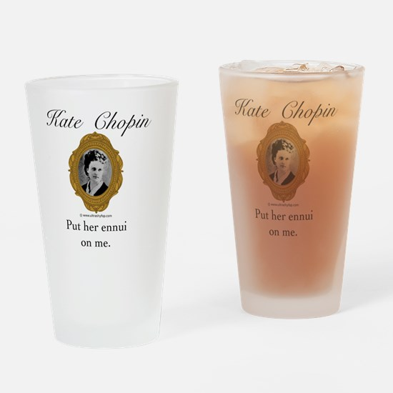 Kate Chopin Drinking Glass