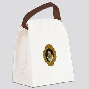 Percy Shelley White Canvas Lunch Bag