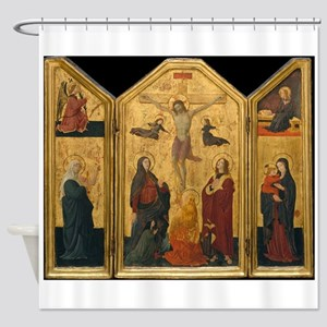 Crucifixion - Ucello Shower Curtain