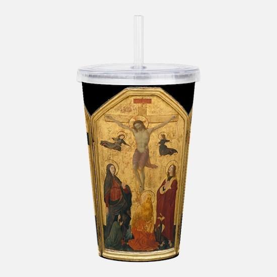 Crucifixion - Ucello Acrylic Double-wall Tumbler