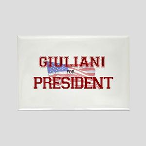 Giuliani for President Rectangle Magnet