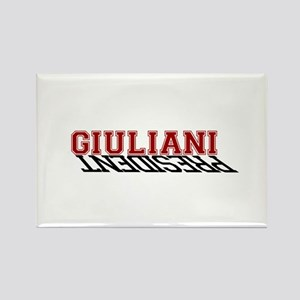 Giuliani is the President Rectangle Magnet
