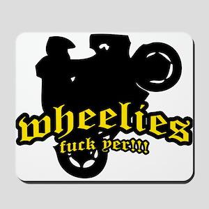 Wheelies Mousepad