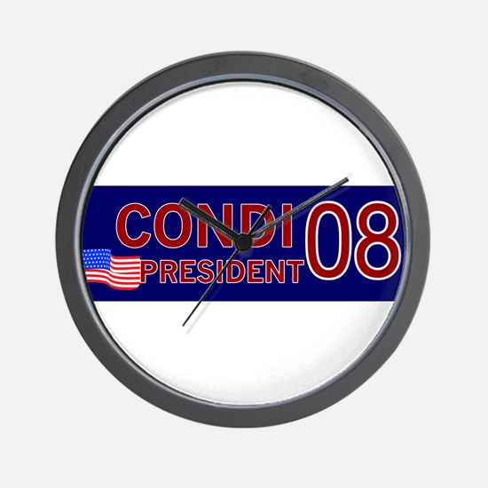 Condi for President in '08 Wall Clock