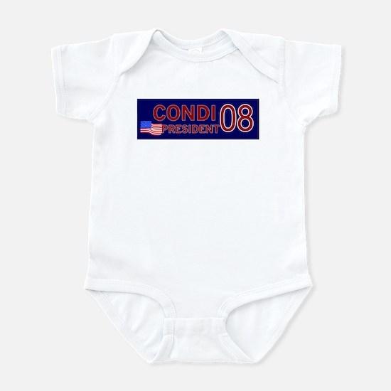 Condi for President in '08 Infant Bodysuit