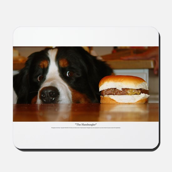 """The Hamburgler"" Mousepad"