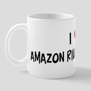 I Love Amazon River Dolphins Mug