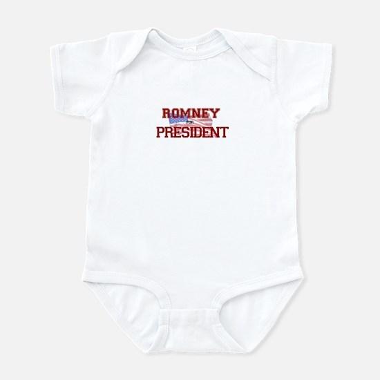 Romney for President Infant Bodysuit