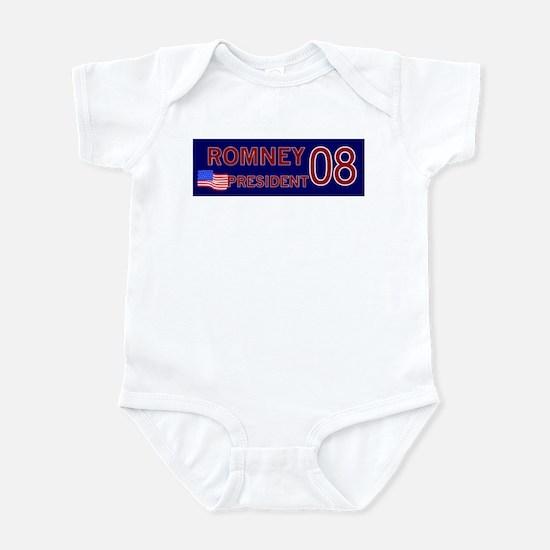 Romney for President in '08 Infant Bodysuit