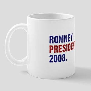 Romney. President. 2008. Mug