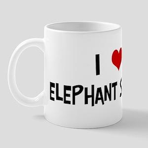 I Love Elephant Shrews Mug