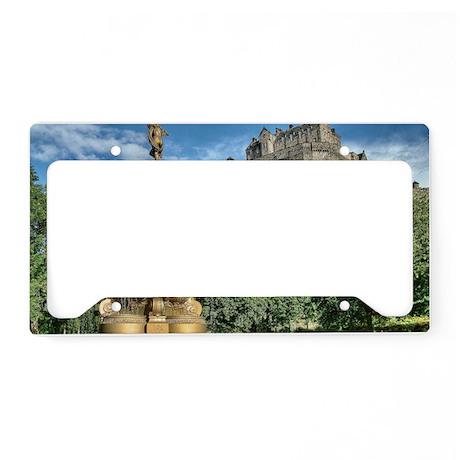 Edinburgh Castle 98 , Scotlan License Plate Holder