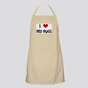 I Love Bed Bugs BBQ Apron