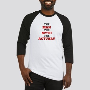 The Man The Myth The Actuary Baseball Jersey