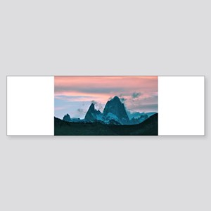 Mount Fitz Roy, Patagonia, Argentin Bumper Sticker
