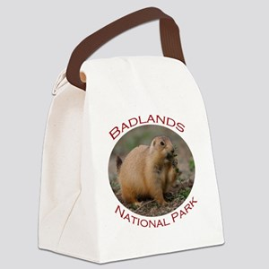 Badlands National Park...Prairie  Canvas Lunch Bag