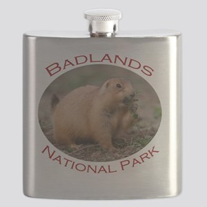 Badlands National Park...Prairie Dog Snackin Flask