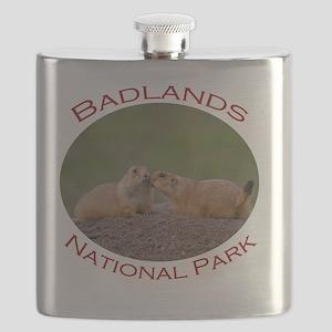 Badlands National Park...Prairie Dog Kiss Flask