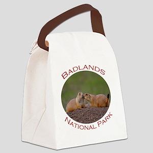Badlands National Park...Prairie  Canvas Lunch Bag