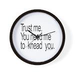 Massage Therapist 3 Wall Clock