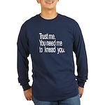 Massage Therapist 3 Long Sleeve Dark T-Shirt