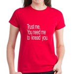 Massage Therapist 3 Women's Dark T-Shirt