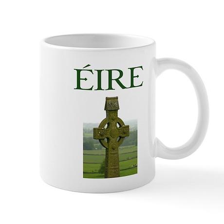 Eire Celtic Cross Mug Mugs